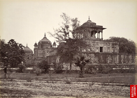 The Tomb of Khusrau, Allahabad c 1870