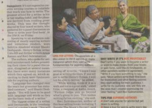 TOI---IIMB-Alumni-Meet---How-to-Write-Your-First-Book---Feb-2013