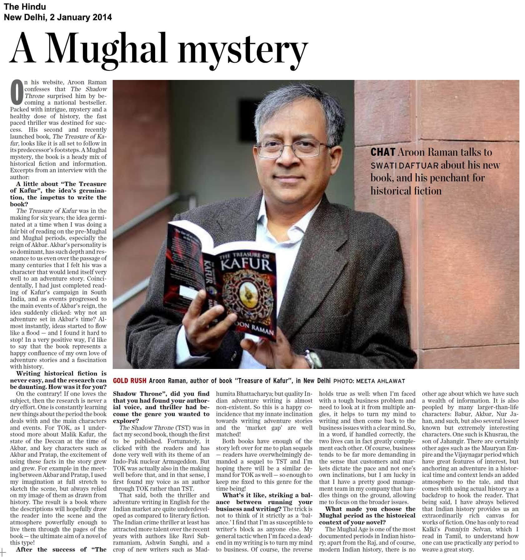 A Mughal Mystery